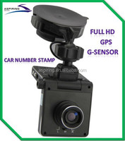 TV/HDMI interface Full HD gps car video recorder