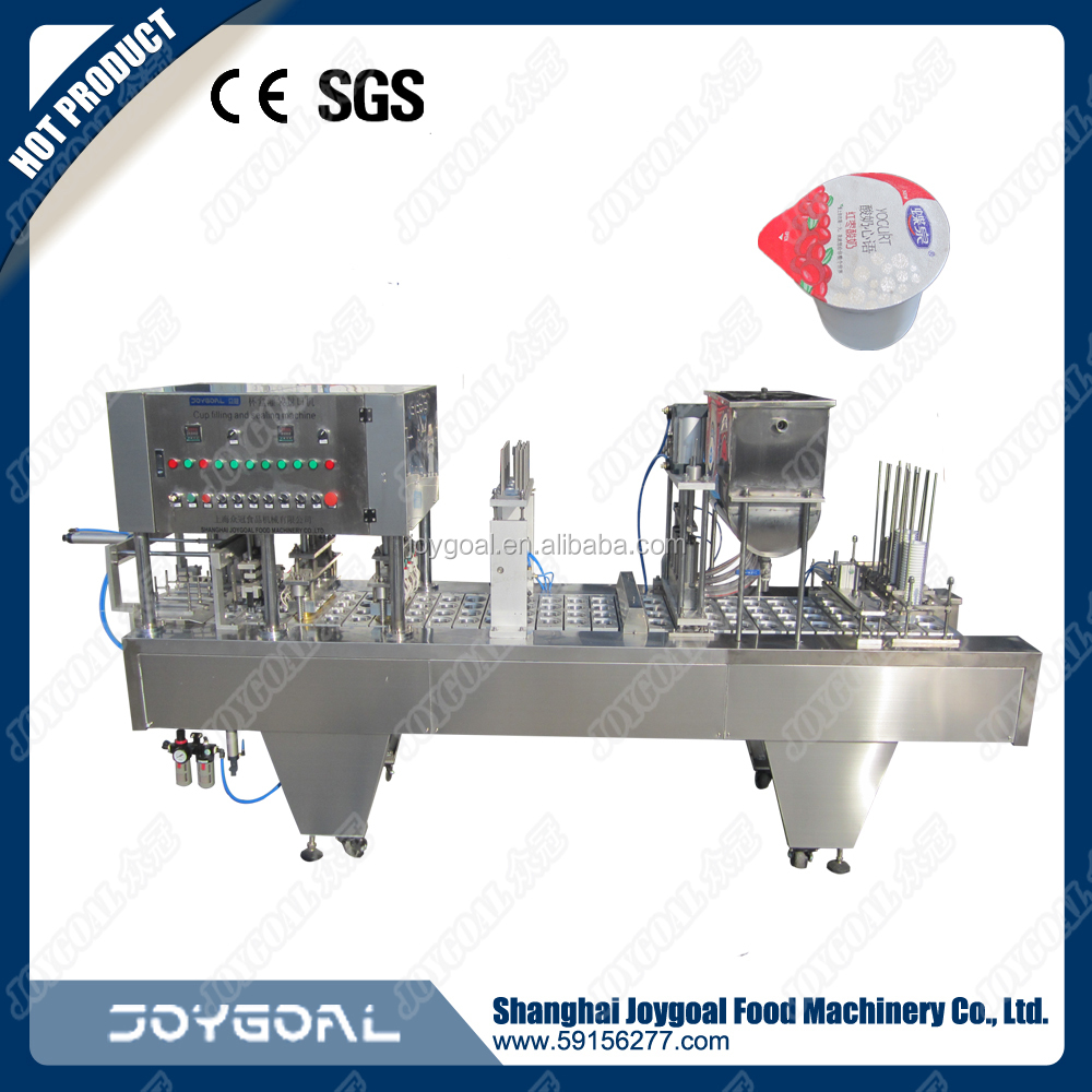automatic water cup filling and sealing machine