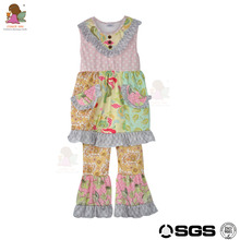 CONICE NINI brand china cheap wholesale floral baby girl summer dress with pocket
