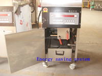 CE APPROVAL KFC Henny penny lpg gas chicken commercial pressure fryer with oil filter system and frying basket