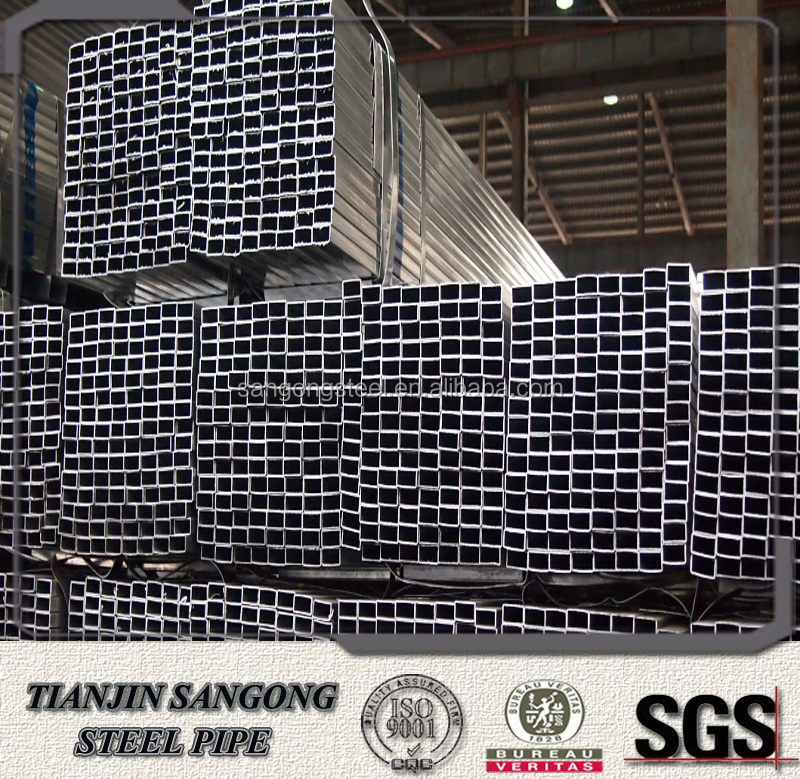 structural pre galvanized hollow section make steel gate