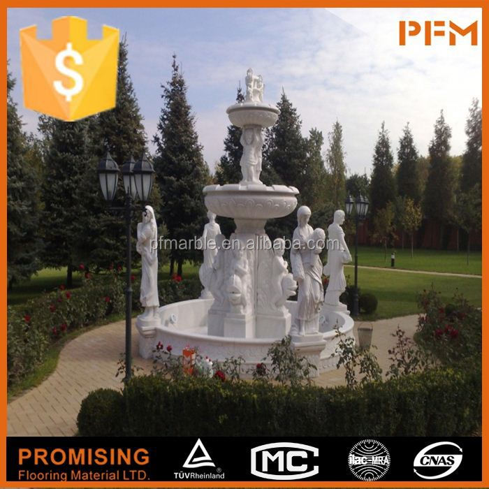 latest hot sale cheap well polished beautiful hand carved fountain foam speakerwater show speakerslarge wa