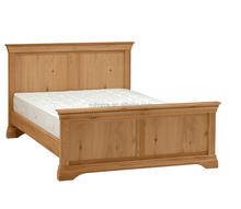 Cheap Modern Unique Pine KD Wood Bed Wholesale