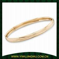 14kt Yellow Gold Bangle Bracelet