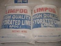 hydrated lime, quicklime, powdered quicklime