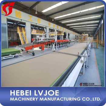 2017 Lvjoe Machine - Gypsum board production machine