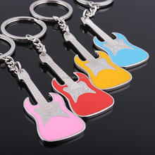 Ywbeyond alloy guitar keychain music lover engraved party gather gifts and favors