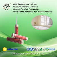 High Temperature Pressure Sensitive Adhesive Sealant For Civil Engineering Htv Silicone Adhesives For Rubbers