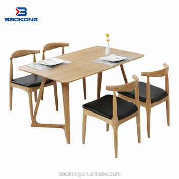 Dining Room Furniture Solid Wood Table And Chair Set