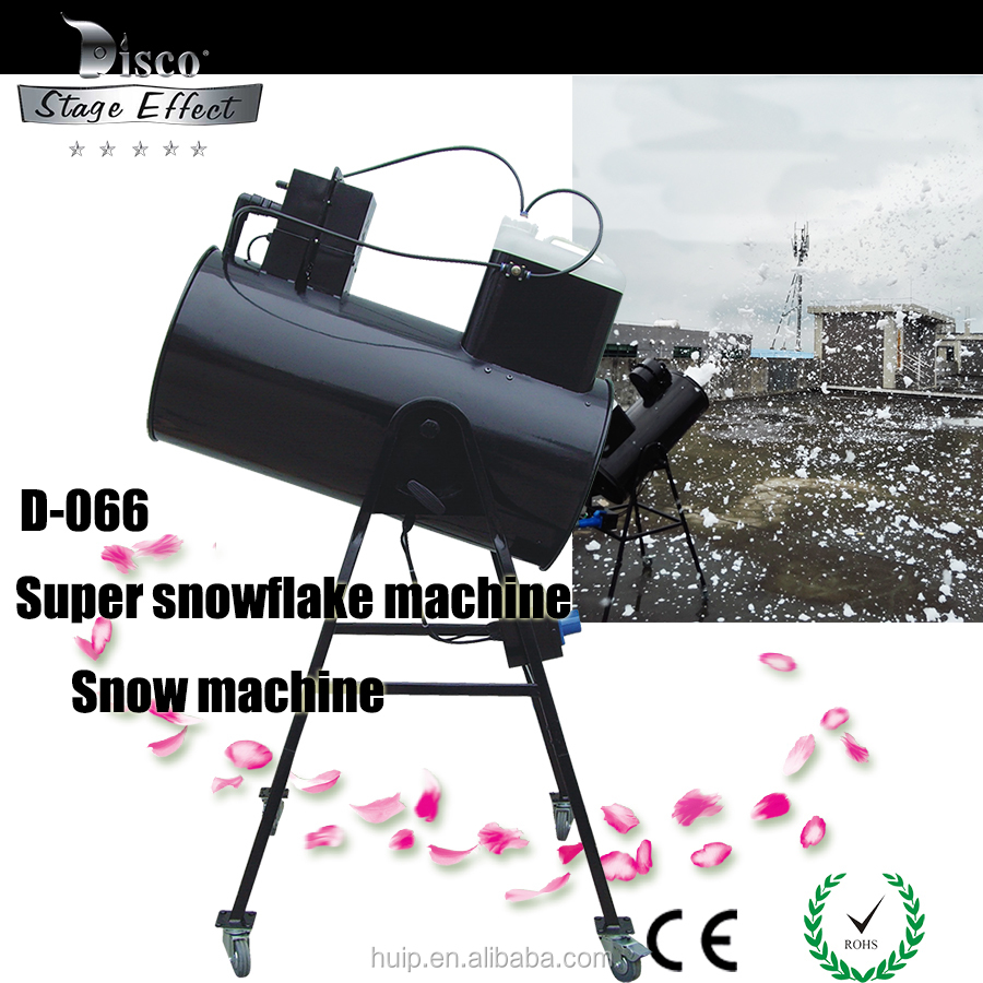 outside / indoor special effects machines manual control artificial snow machine