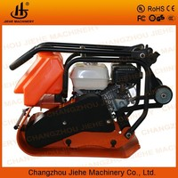 strong shock tube vibrating plate compactor with parts for concrete and asphalt road (JHC-1600)
