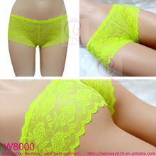 Women hot sex images mixed lace short panties in apparel