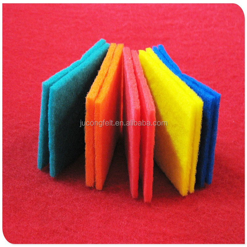Wholesale hydrophobic material/polyester felt fabric/pp non woven polyest felt with factory price