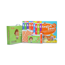 Reading pen and recordable stickers with series of English zone books 10 vols