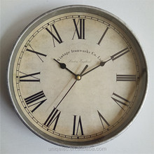9 inches Home Decoration Low price Art Plastic wall clock