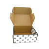Wholesale recyclable carton paper box for shoe packaging with custom logo