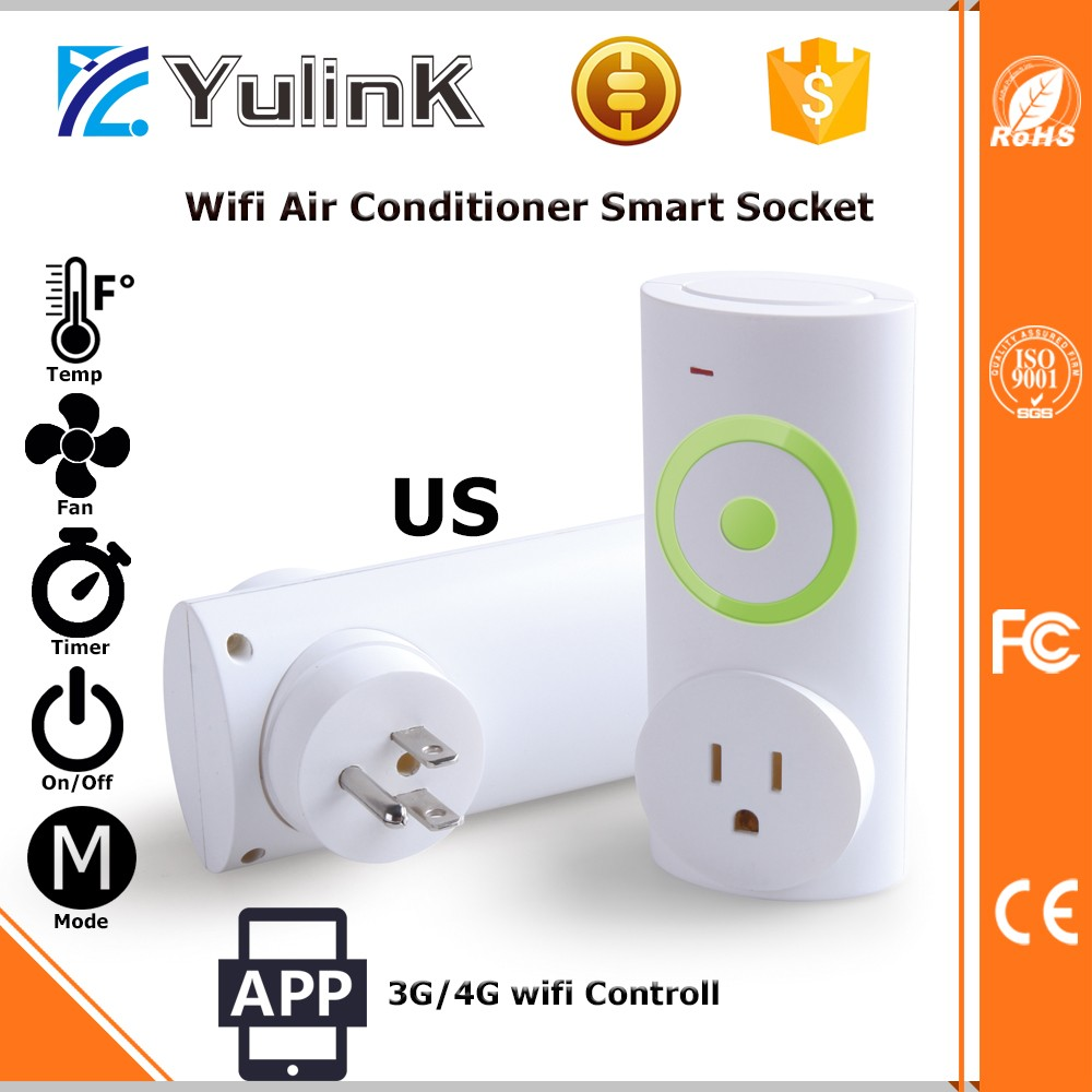 Intelligent 3G/4G Wifi APP Air Conditioner Remote Control Wifi Smart Socket