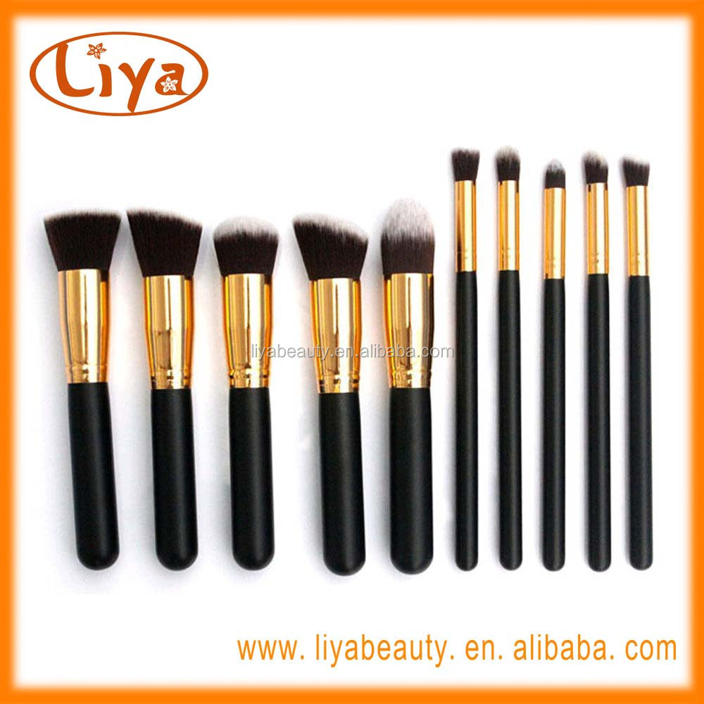 OEM Synthetic Kabuki Makeup Brush Set use for Foundation Makeup