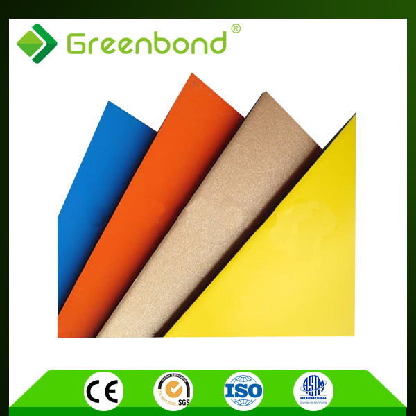 Greenbond various colors aluminium alloys composition