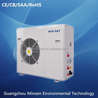 energy saving air source heat pump floor heating system
