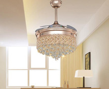 Invisible Blade Fan Ceiling Lamp Suspension Lighting Pendant Light