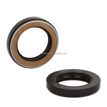 Double Lip Viton Rubber Metric Shaft Oil Bonded Seal with Spring