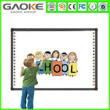 "Hot sale IR 10 point touch 82"" school board smart board interactive whiteboard for school with cheap price"