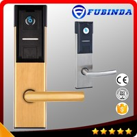 professional factory rfid card security electric handle safe electronic digital hotel smart keyless wireless keypad door lock