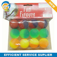 Promotional Colorful Cheap Fun Solid Bouncing Ball