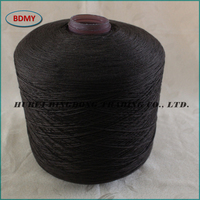 100 spun polyester yarn for sewing thread raw white virgin polyester yarn