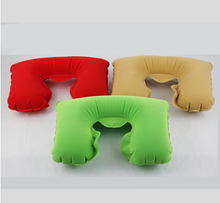 travel inflatable airplace multi functional pillow U shape good for sleep