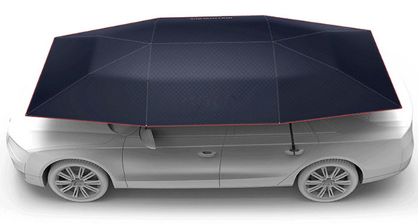 wireless control automatic car covers sun shade