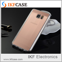 Newest High Quality Brushed Texture Plating Silicon Soft Back Cover For Samsung Galaxy Note 5/N9200