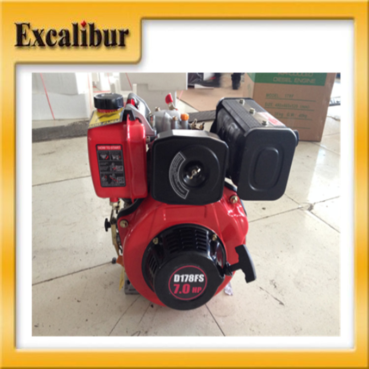 water cooled single cylinder diesel engine in China S178FS 1800rpm