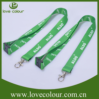 Polyester Custom Decorative Neck Lanyard with Safety Breakaway Buckle