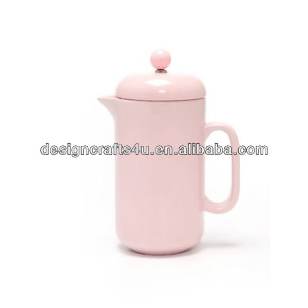 New Hot Sale Pink Ceramic Coffee Press