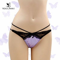 Popular Graceful Lace Minimizer Sexy Girls C String Thong