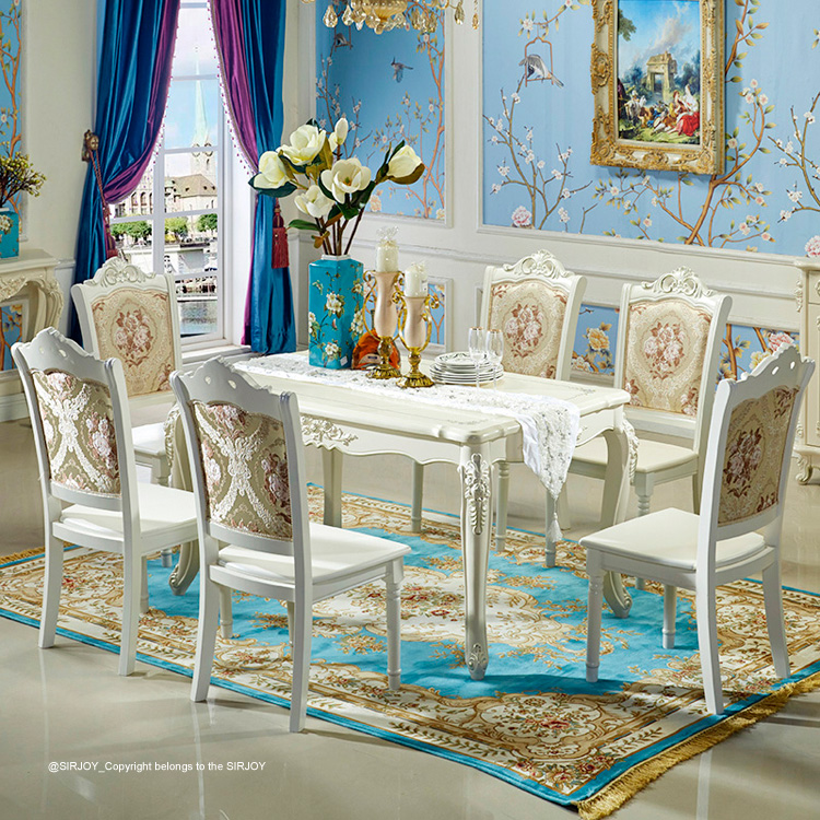 Factory direct supplier big size romance table and chair