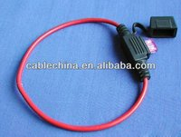 Car Fuse Connector with Color Code Wire Harness and Adapter Cable Assembly