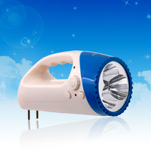 Best quality rechargeable portable emergency led light with FM radio