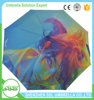 High Quality OEM Advertising photo Custom Print Umbrella