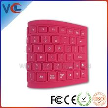 Bluetooth Foldable advertising silicone keyboard_ in stock medical keyboard