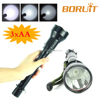 2016 Super Bright Police Security LED Flashlight