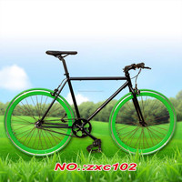 700C Single speed bicycle Fixed Gear Bike Aluminum Alloy Rim bicycle