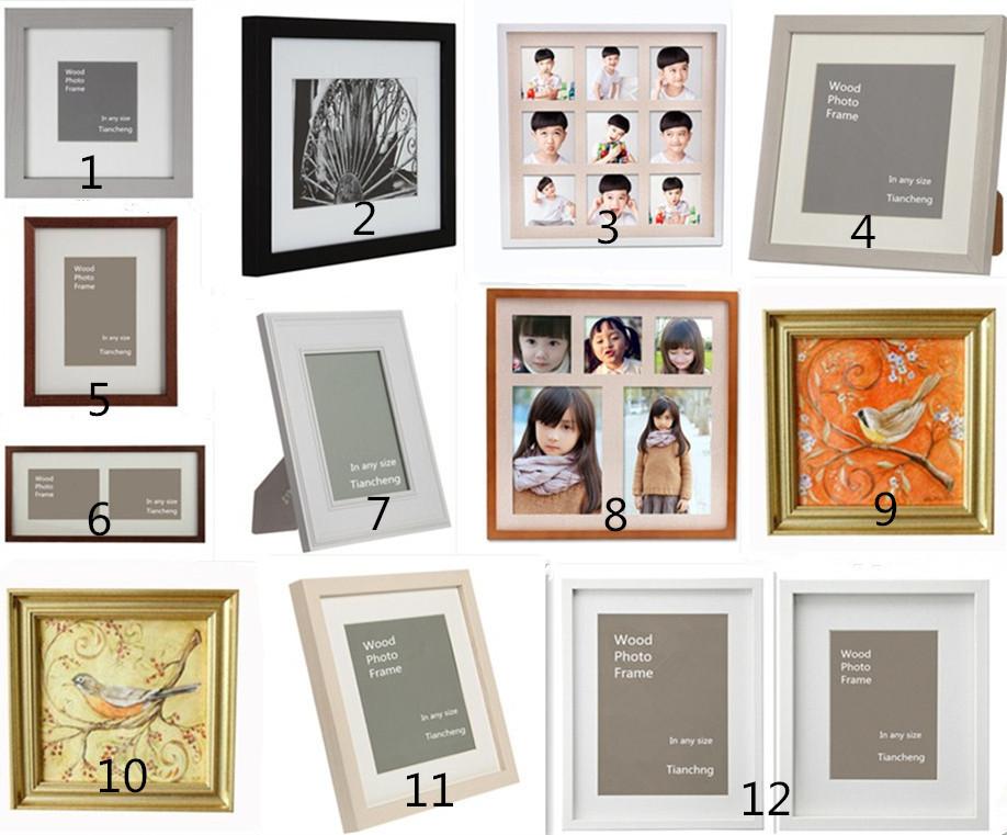 Shadow Box Frame Wholesale / 6x6 8x8 10x10 12x12 14x14 16x16 18x18 ...