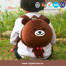 Supercute brand black color suit for school china backpack