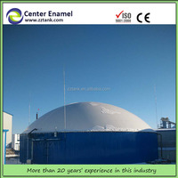 most cost-effective biodigester / biogas digester made from glass fused to steel tank