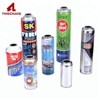 OEM high pressure round aerosol body safe tin can manufacturer