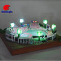 Mini Stadium Building Model with LED light Custom made 3d architectural model