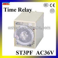 8 pin relay st3pf time delay relay 36v ac time relay ST3PF